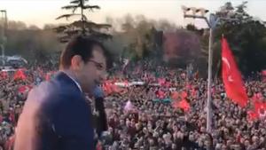 Mazbatasını alan Ekrem İmamoğlu'na binlerce kişiden destek