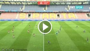 Sparta Prag - Trabzonspor maçı özet izle