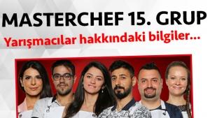 Masterchef Türkiye 2. sezon 15. grup yarışmacı adayları