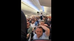 Saba Tümer Türk Hava Yolları videosu ile isyan etti!