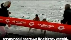 Yüzme yarışında milli skandal!