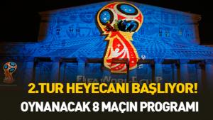 Dünya Kupası'nda 2.tur heyecanı
