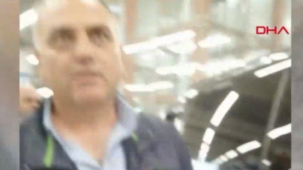 İstanbul Havalimanı'nda UBER sürücüsüne darp