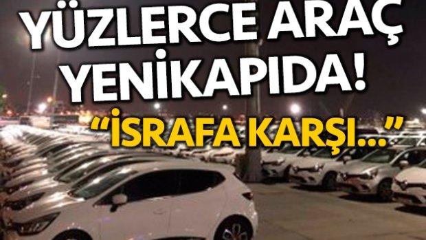 Yüzlerce Renault Clio Yenikapı'da
