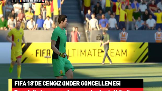 Cengiz Ünder'e FIFA 18 güncellemesi