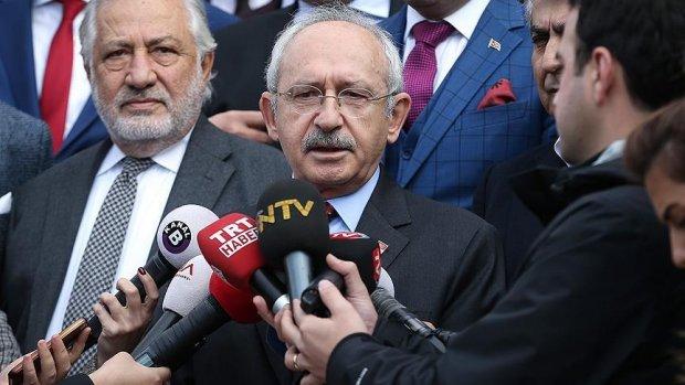 CHP Genel Başkanı Kılıçdaroğlu: Her türlü desteği vermeye hazırız