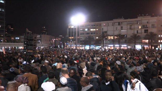 İsrail'deki Etiyopyalılar 'polis vahşetini' protesto etti