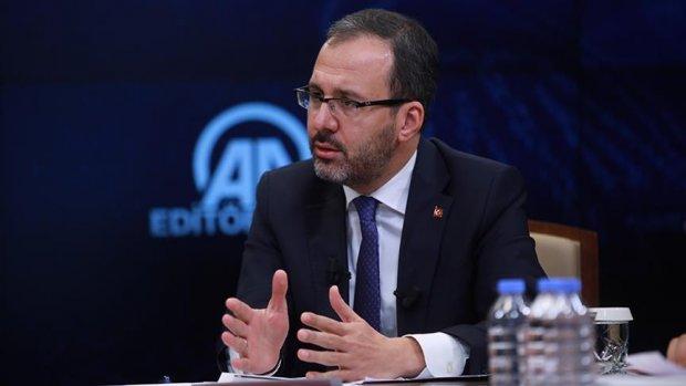 Gençlik ve Spor Bakanı Kasapoğlu: Yeni spor aktörleri örnek olmalı