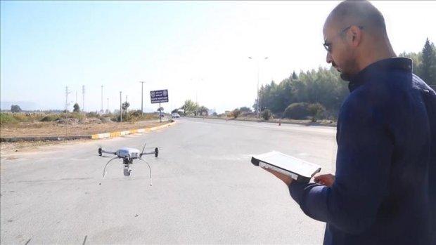 Turizm merkezlerinde havadan trafik denetimleri