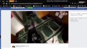 Yeni Zelanda'da camiye saldırı videosu!