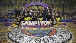 Basketbolda sezonun şampiyonu Fenerbahçe