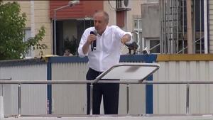 CHP'nin cumhurbaşkanı adayı İnce: Kanal İstanbul'u yapmayacağım