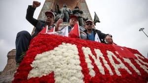 1 Mayıs Emek ve Dayanışma Günü kutlandı