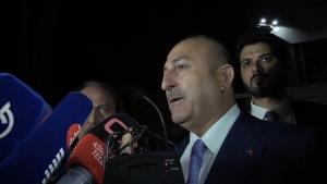 Bakan Çavuşoğlu: Irak'ın ve Irak halkının yanında olduğumuzu vurgulamak için özellikle geldik