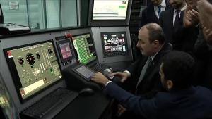 Sanayi ve Teknoloji Bakanı Mustafa Varank milli helikopter motoru testine katıldı