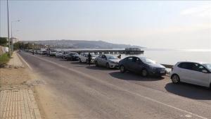 Tekirdağ Limanı'nda tatil yoğunluğu