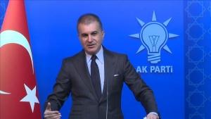 AK Parti Sözcüsü Çelik: Türkiye Fırat'ın doğusundaki tehdidi bertaraf edecektir