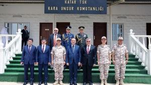 Bozdağ'dan Katar'daki Türk Birliği'ne ziyaret