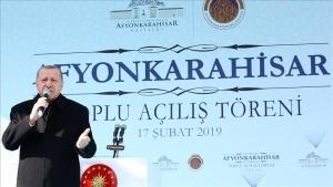 Cumhurbaşkanı Erdoğan: 31 Mart seçimlerinden tarihi bir zaferle çıkmak istiyoruz